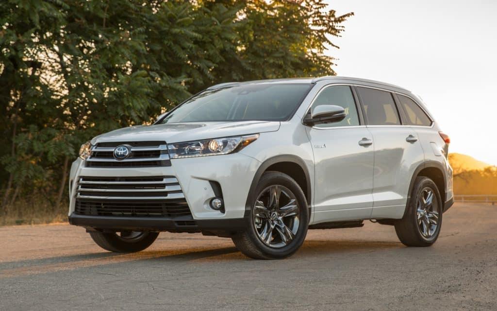 Toyota Highlander pour un voyage confortable